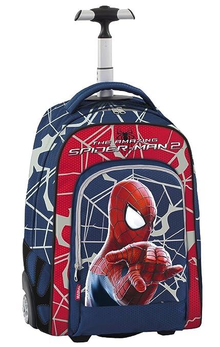 52 opinioni per Spiderman- Marvel The Amazing Uomo Ragno Trolley Scuola, Spallacci a Scomparsa,