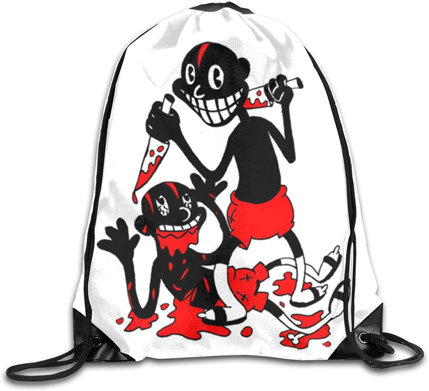 Drawstring Bags For Boys Colorful Flip Flops On The Beach Backpacking Backpack Funny Gym Bag Lightweight With Zipper Pocket Sports Athletic School Travel Gym Cinch Sack