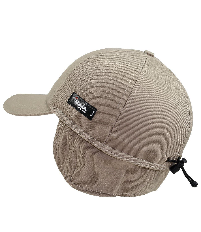 Fiebig Basecap Per Ragazzi Baseball Cappellino Berretto Con Visiera Cappello Invernale Teflon Uni Paraorecchie Bambini (FI-42492-W16-JU6) incl. EveryHead-Hutfibel