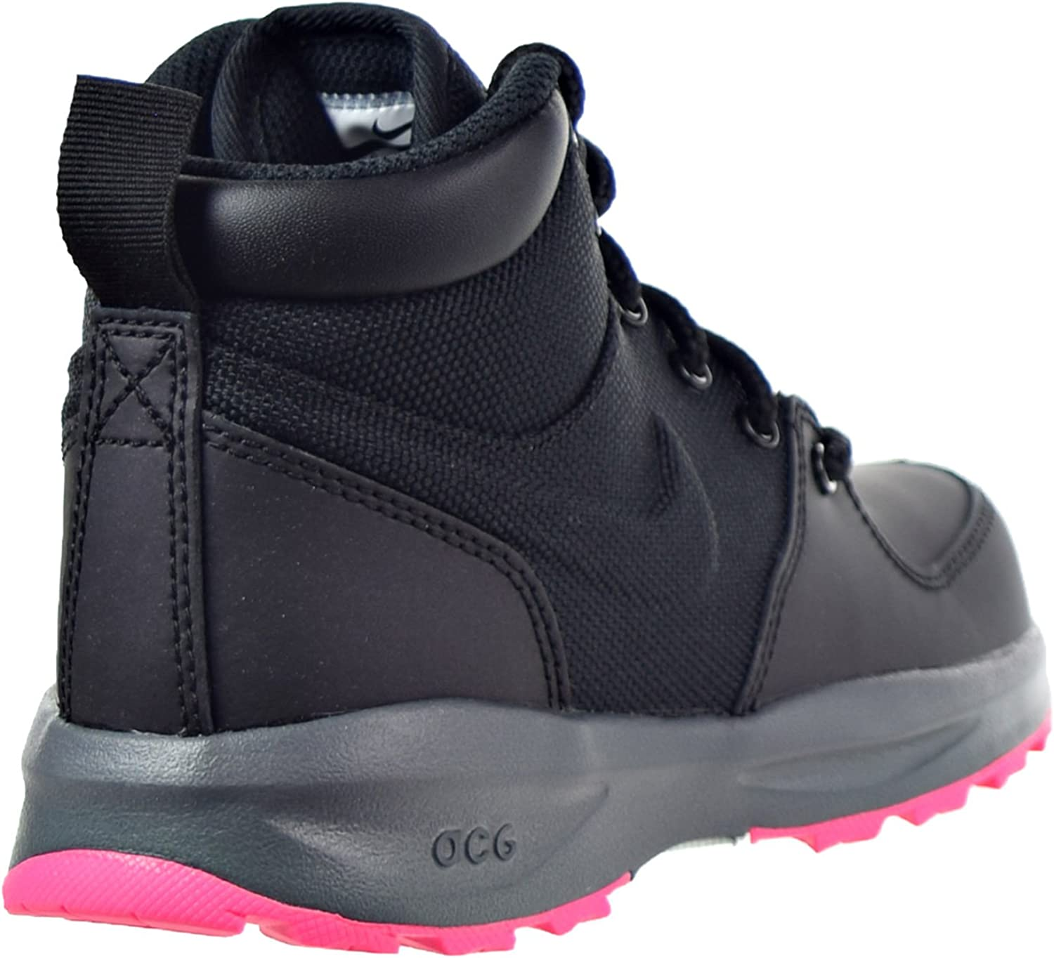 PS Boots Black//Hyper Pink 859413-006 Nike Manoa Little Kids
