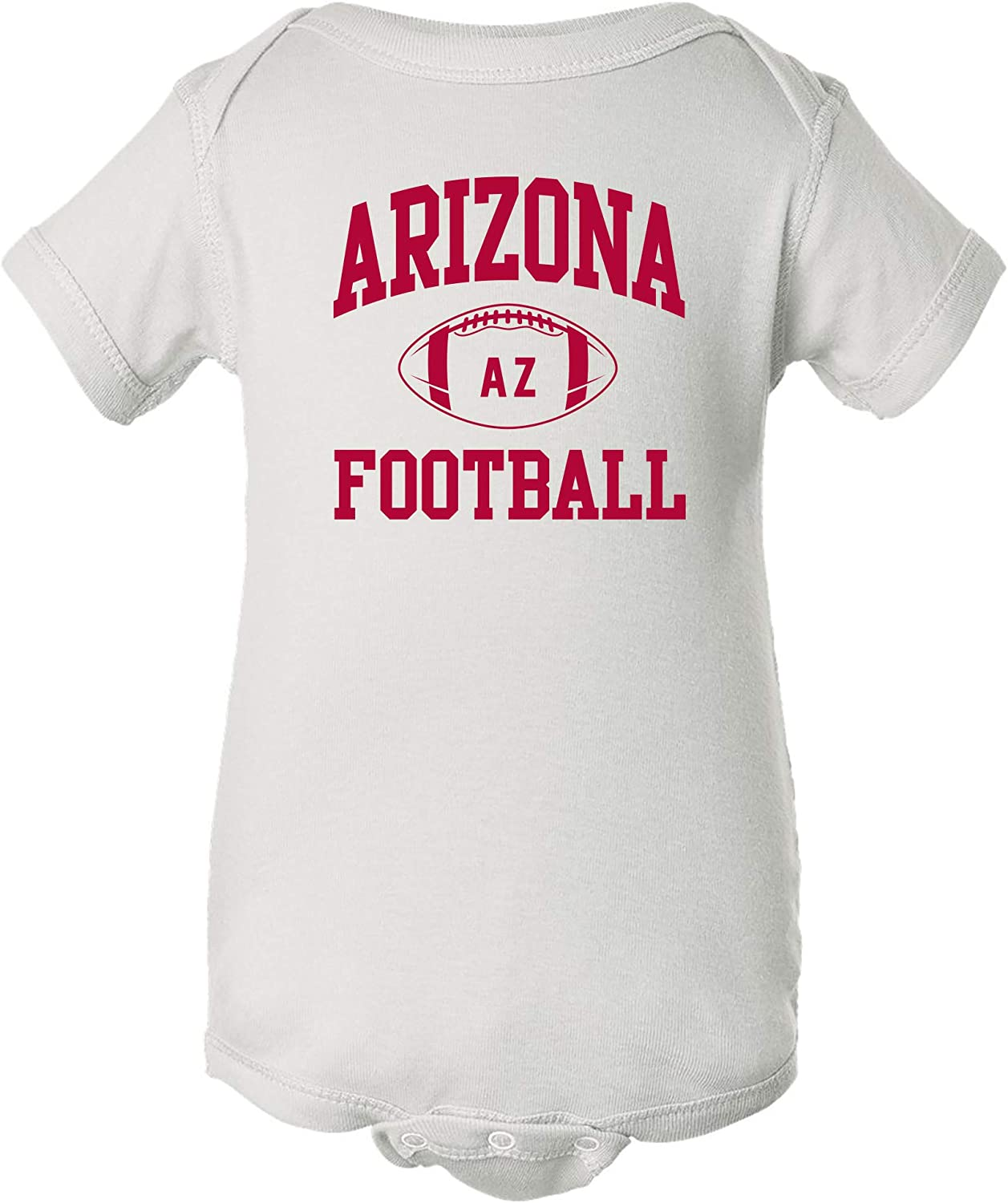 City Classic Football Arch Infant Creeper Bodysuit