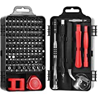Precision Screwdriver Set,ShowTop 110 in 1 Magnetic Screwdriver Repair Tool Kit for iPhone Series/Mac/iPad/PS3/PS4…