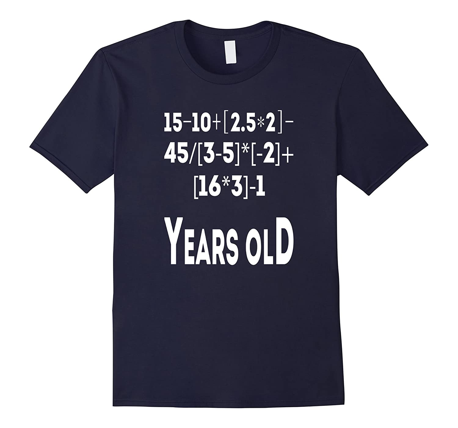 12 Years Old Algebra Equation Funny 12th Birthday Math Shirt-CL