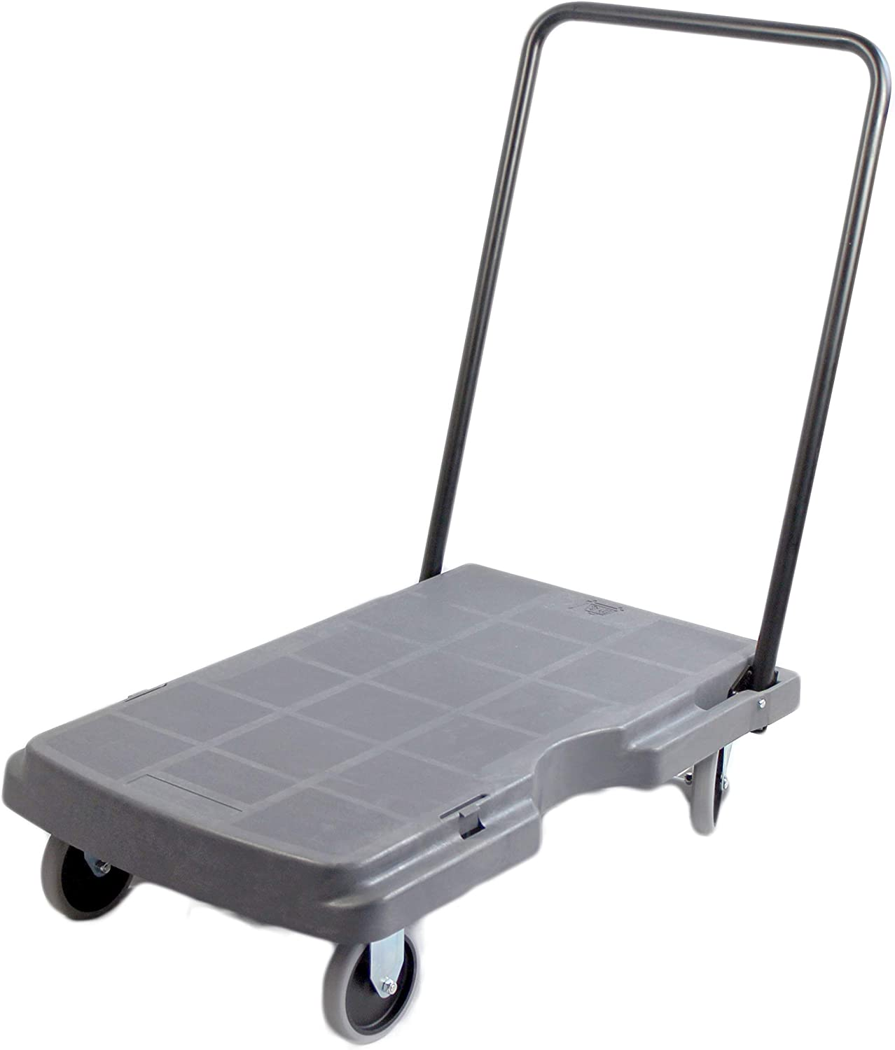 "MaxWorks 80856 30"" x 20"" Polypropylene Dolly with Foldable Handle, 1 Pack"