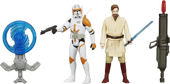 Star Wars Figura de Venganza de Sith y Mission OBI-WAN Kenob 3,75 Pulgadas Pack of 2: Amazon.es: Juguetes y juegos