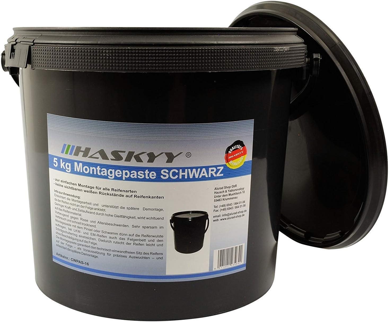3kg Reifenmontagepaste Montagewax Schwarz Reifenmontage Pinsel Baumarkt