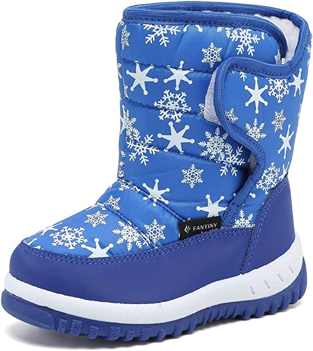 IceUnicorn Boys Girls Snow Boots Waterproof Winter Boots Outdoor Warm Shoes with Faux Fur Lined for Cold Weather Toddler//Little Kid//Big Kid