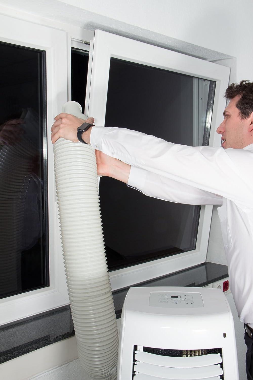 Plus-2 Fensterabdichtung //-Lock //-Luftvorhang //-Schleuse f/ür mobile Klimager/äte hot air stop PLUS-2 airstop Entfeuchter oder Ablufttrockner an alle Fenster/öffnungen an Dach und Wand
