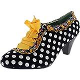 Womens Poetic Licence Whiplash Court Shoe Leather Mary Jane Heels
