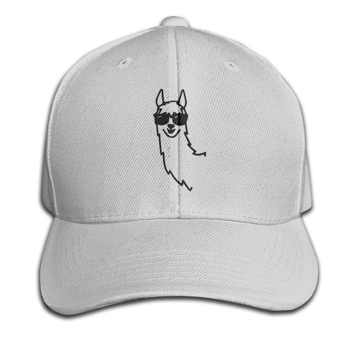 Christmas Alpaca Denim Dad Cap Baseball Hat Adjustable Sun Cap Hip Pop Hat