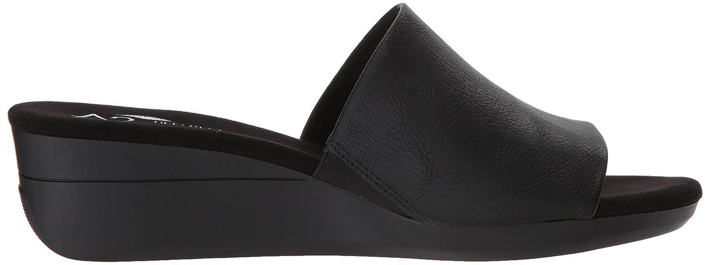 Aerosoles Women's Sunflower Slide Sandal B078WFCTP2 12 B(M) US|Black