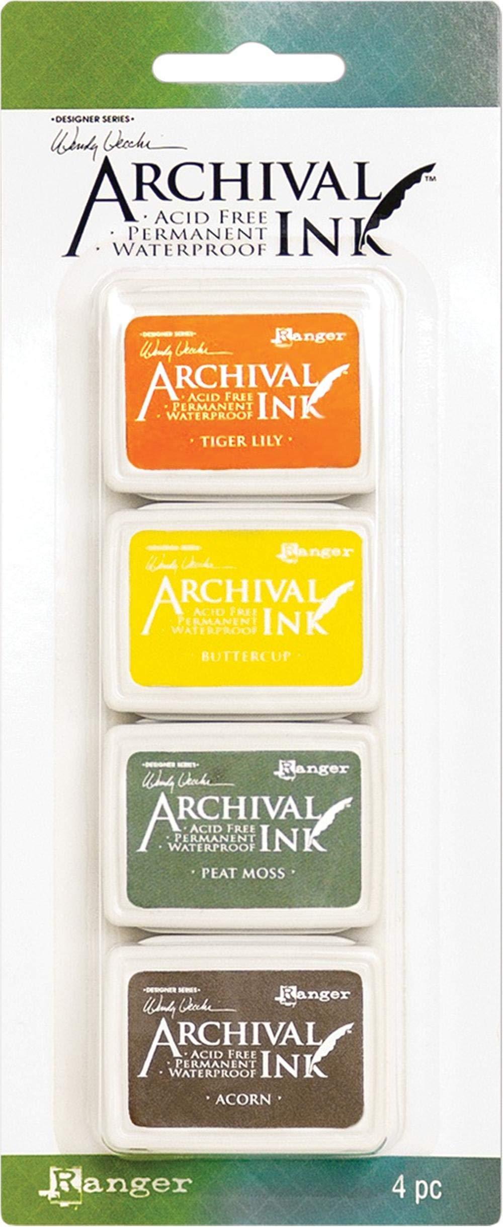 Ranger Wendy Vecchi Mini Archival Ink Pads-Set #5