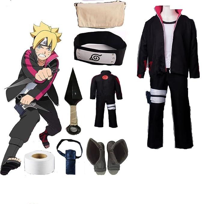 Amazon.com: Disfraz de Boruto Naruto Boruto Uzumaki de ...