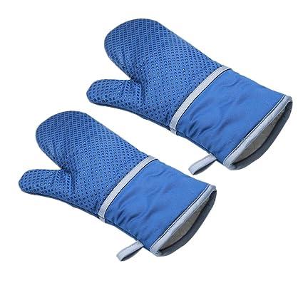 Guantes para horno resistente al calor conjunto de 2 guantes ...