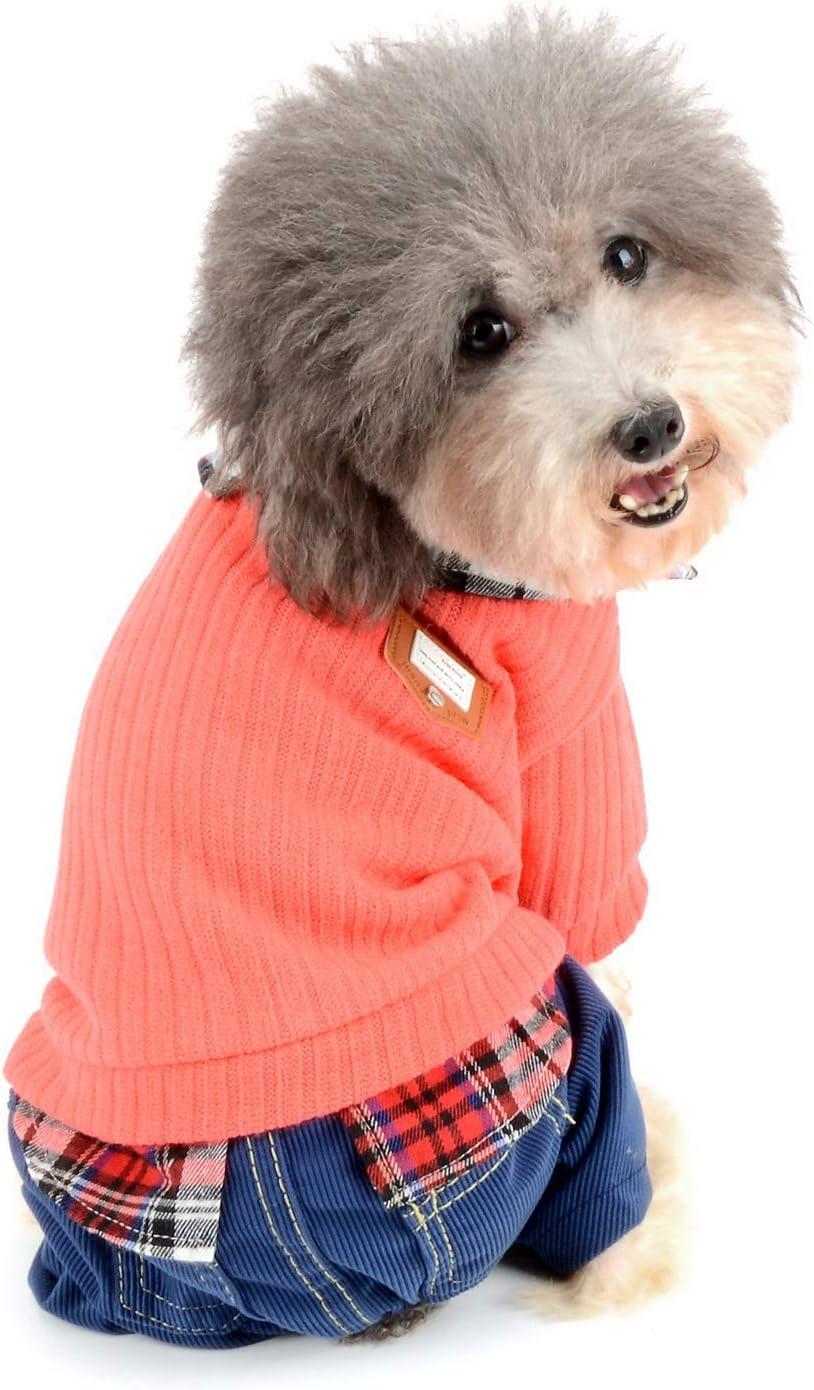 Zunea - Traje de chándal para Perro, Ropa para Perros pequeños ...