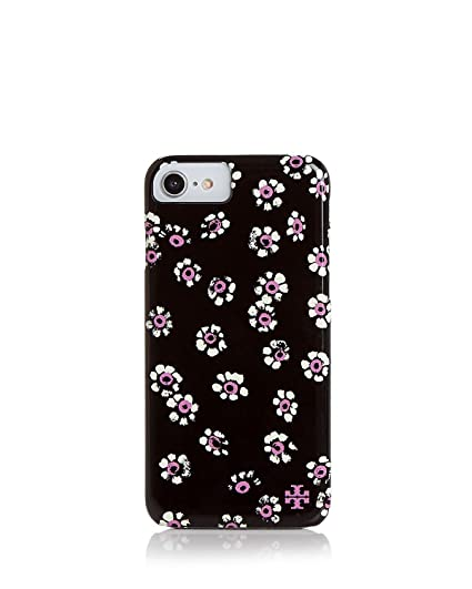 info for 26866 5ae0e Amazon.com: Tory Burch Printed Hardshell iPhone 7/8 Case 46204 Black ...
