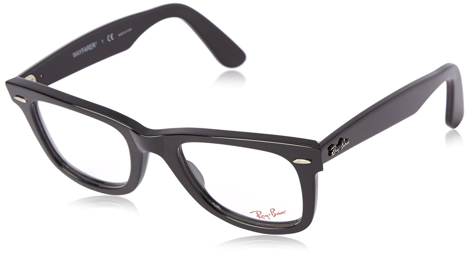 1007a3eff81 ray ban eyeglasses for women 51mm ray-ban glasses framed black and white