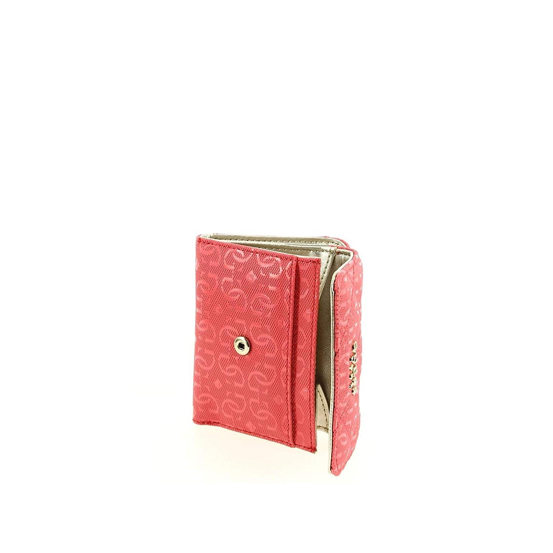000c515f5ce5 Petit Porte monnaie GUESS Seraphina SLG Hibiscus, Rose, Taille unique   Amazon.fr  Bagages