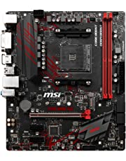 MSI B450M GAMING PLUS Socket AM4/B450/DDR4/S-ATA 600/Micro ATX Motherboard - Black