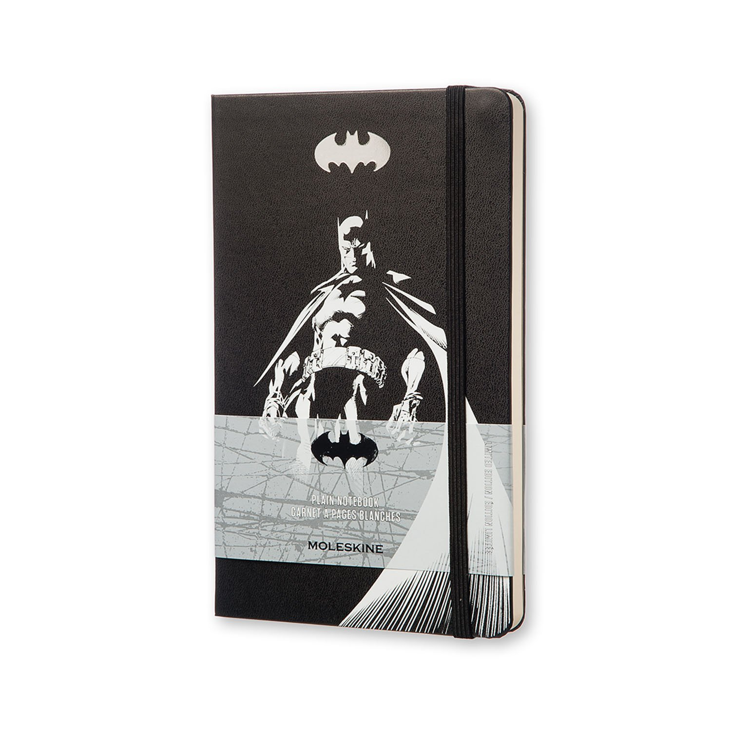 Moleskine Batman Limited Edition Notebook, Large, Plain,...