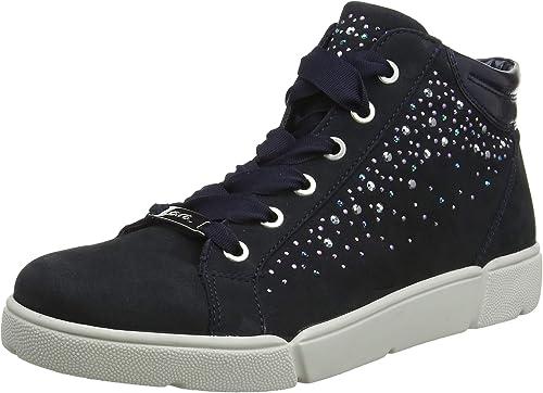 ARA Damen Rom 1214414 Hohe Sneaker