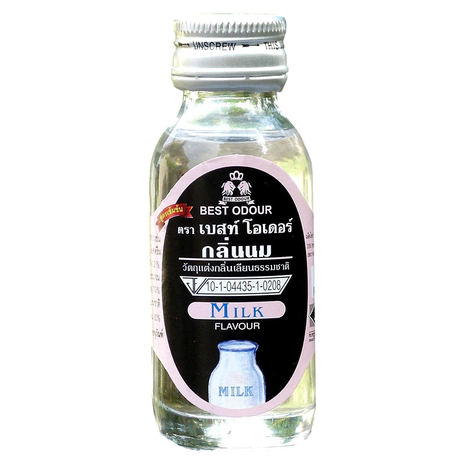 Milk Flavour By Best Odour Essence Food Baking, Cooking Supply 30 Ml.