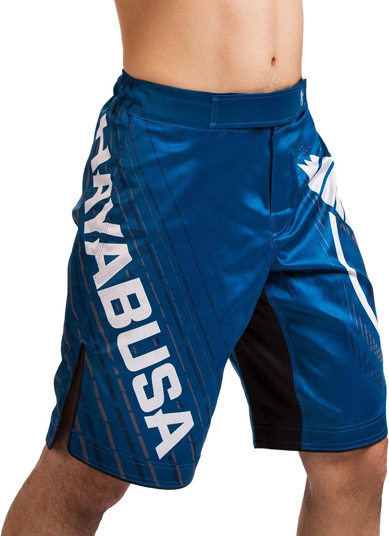 Jiu Jitsu Hayabusa Chikara 4 Pantalones Cortos de Lucha de Artes Marciales para MMA BJJ y Grappling