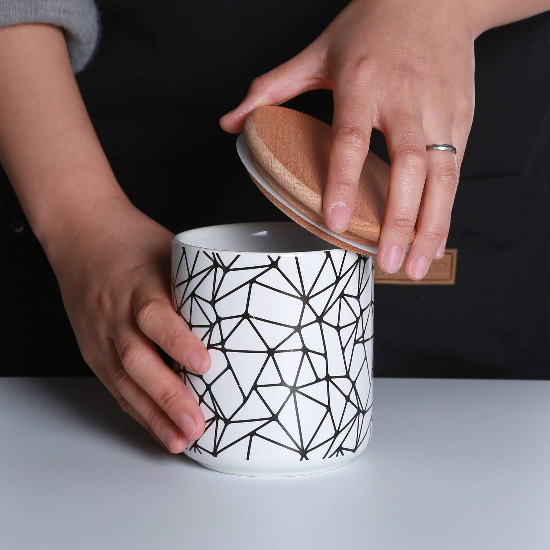 Ceramic Jars With Lid Ceramic Kitchen Ca Buy Online In Lebanon At Desertcart