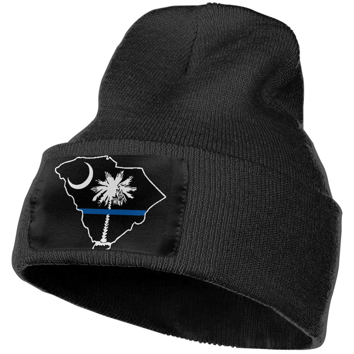 Thin Blue Line SC State Men Women Knit Hats Stretchy /& Soft Beanie Cap Hat Beanie