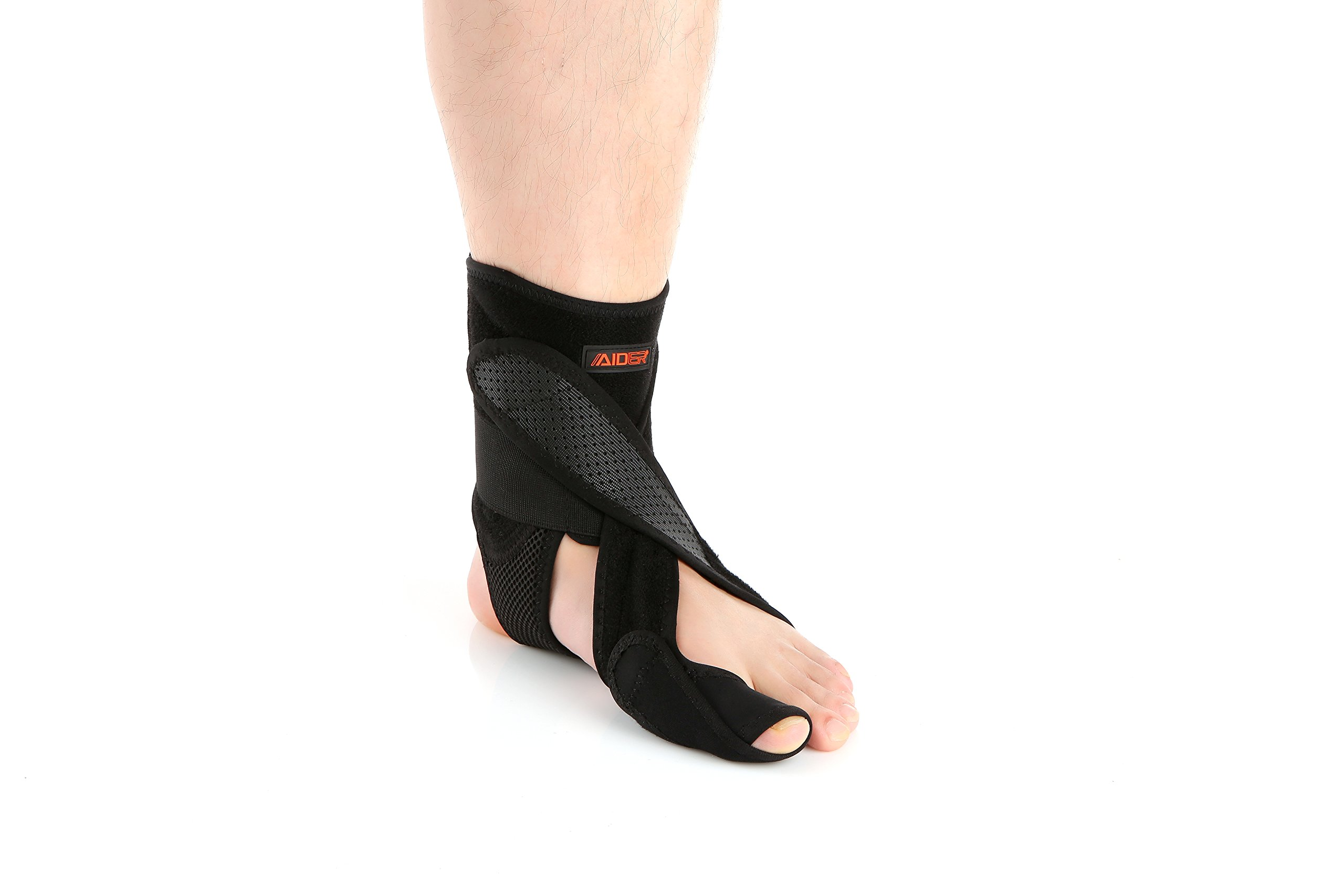 Aider Dropfoot Brace Type 1 for Stroke, Hemiplegia, Peroneal Nerve Injury, Spinal Cord Injury (Left Type1, Size up to US10)