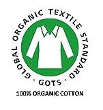 GLAMBURG 100% Pure Organic Cotton 8-Piece Towel Set