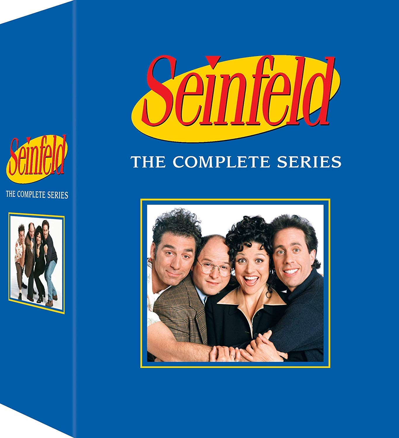 DVD : Seinfeld: Complete Series Box Set (Boxed Set, Full Frame, Subtitled, Mono Sound, Repackaged)