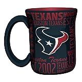 NFL Houston Texans Sculpted Spirit Mug, 17-ounce