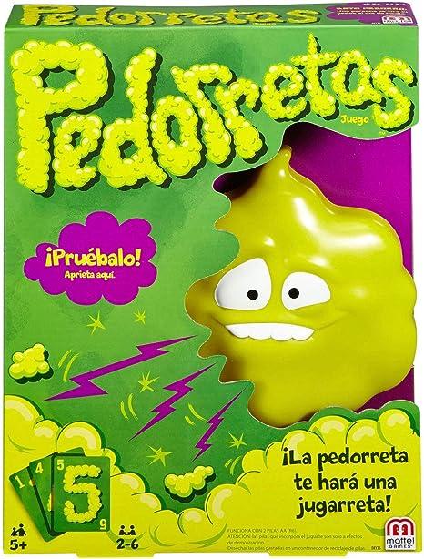 Mattel Games - Pedorretas, Juegos de Mesa Para Niños (Mattel DRY35 ...