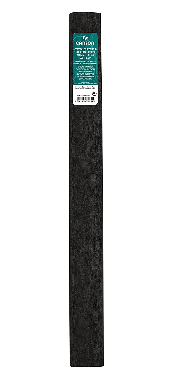 Canson Rouleaux de 10 Papiers cr/épons sup/érieur 48 g//m/² 0,5 x 2,5 m Orange Vif