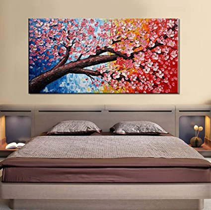 Amazon.com: WM Hand-Painted Canvas Oil Painting European-Style ...