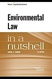 Environmental Law in a Nutshell, 9th