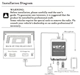 WEFA Digital Music CD Changer Bluetooth Car Adapter Hands Fress Call Adapter For Mazda 2 3 5 6 MX-5 RX-8 MPV etc