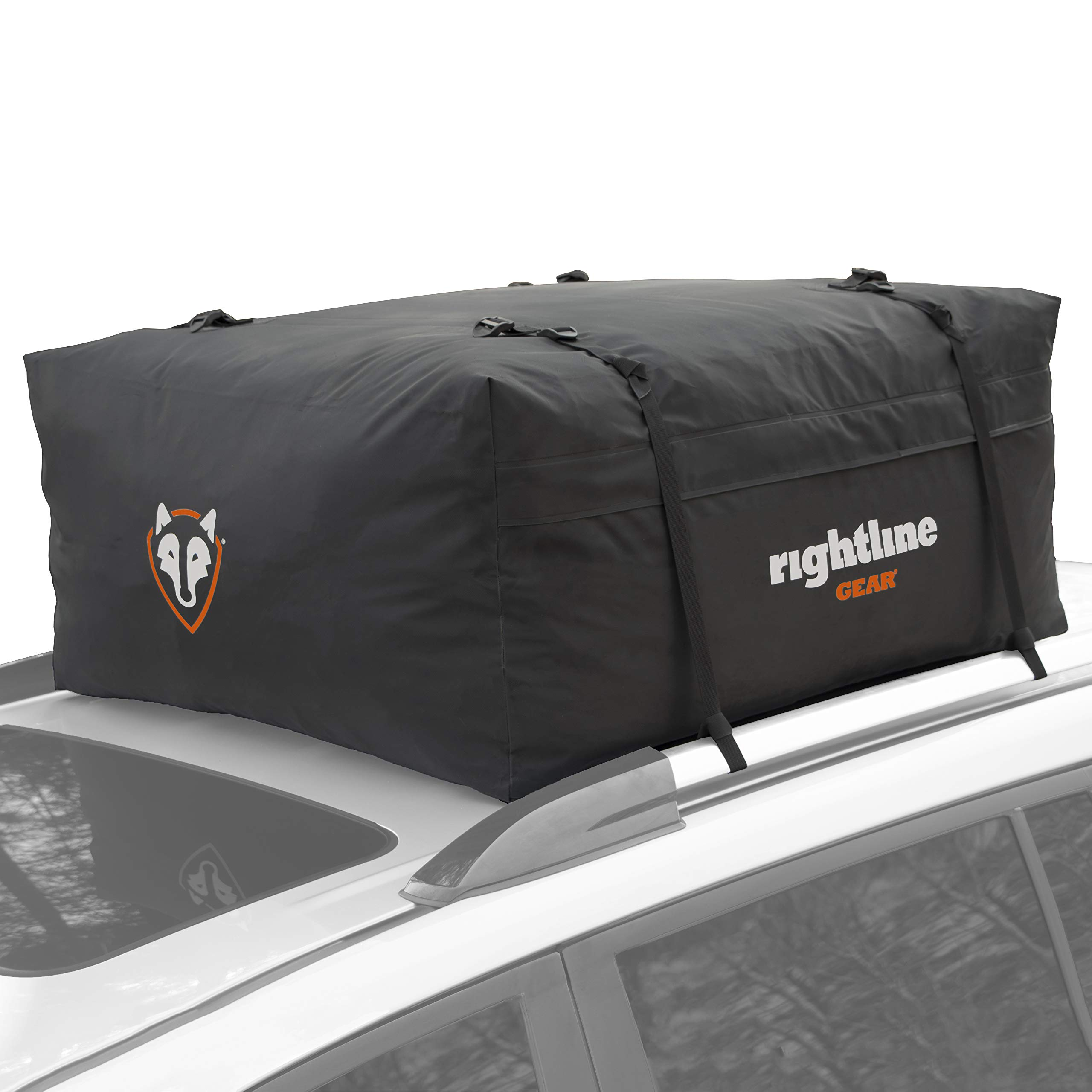 Rightline Gear Range 2 Car Top Carrier, 15 cu ft, Weatherproof +, Attaches With or Without Roof Rack by Rightline Gear