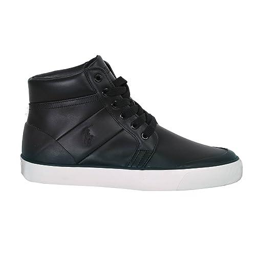 Polo Ralph Lauren Hombre Isaak Botines Desert Negro Size: 44: Amazon.es: Zapatos y complementos