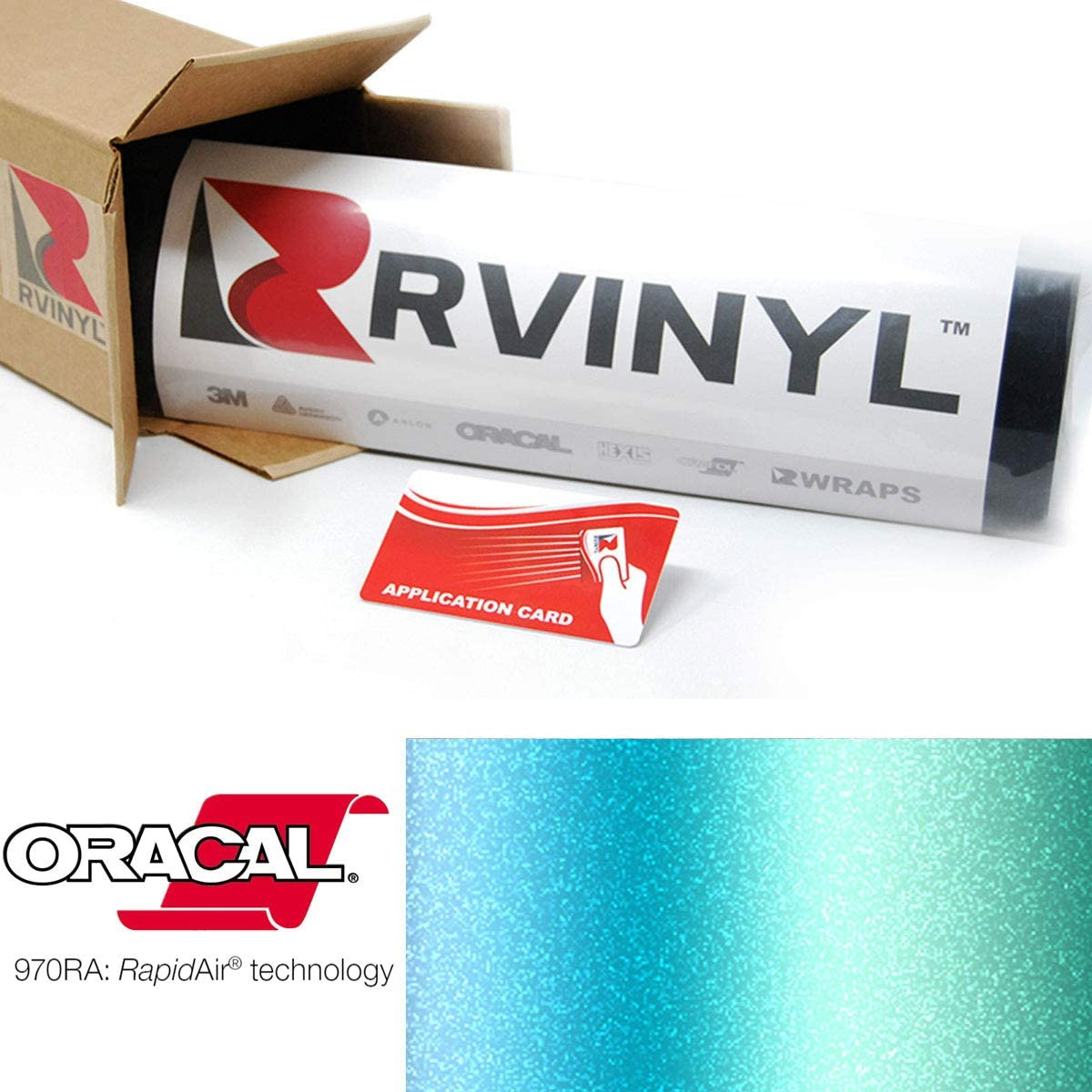 ORACAL Shift Effect Matte Aquamarine Wrapping Cast Film Vehicle Car Wrap Vinyl