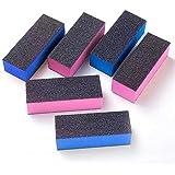 6PCS Nail Buffers, Nail Files & Buffers, Nail Buffer Sanding Block, Nail Buffer Sanding Block Polisher Buffing File 100…
