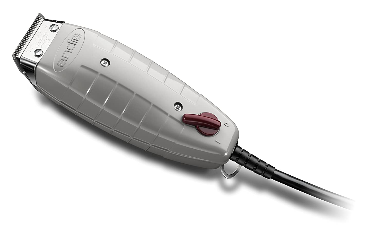 a78b6f7f6 Amazon.com: Andis 04603 Go Professional Outliner II Square Blade Trimmer ,  Gray: Beauty
