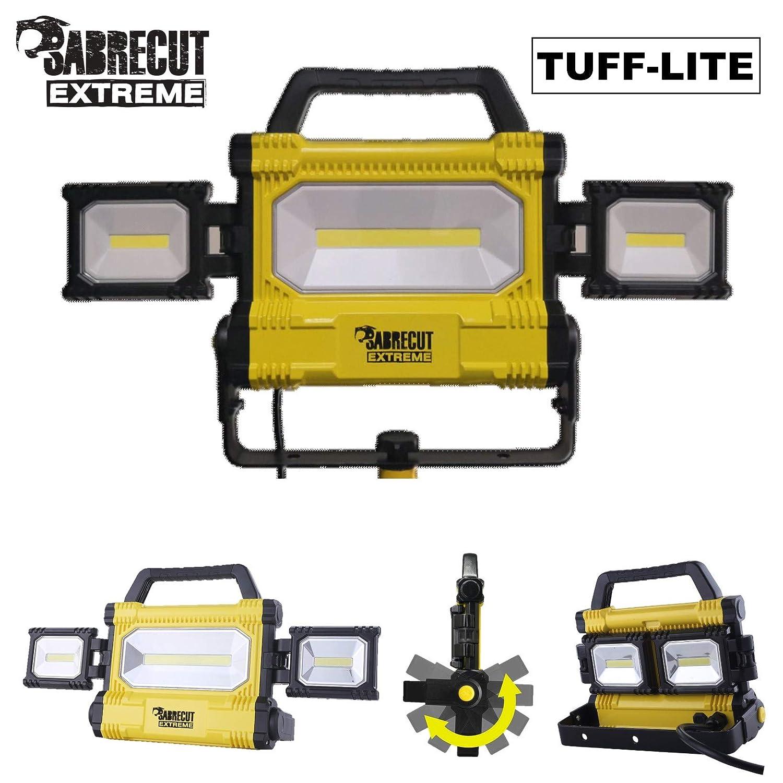EU Plug SabreCut SCLED707ACEU 50W 5000lm Luz de trabajo LED profesional IP54