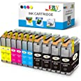 EBY Compatible Ink Cartridge Replacement Brother LC-103XL LC103XL LC103 XL MFC-J870DW MFC-J450DW J470DW J6720DW J4510DW J4710