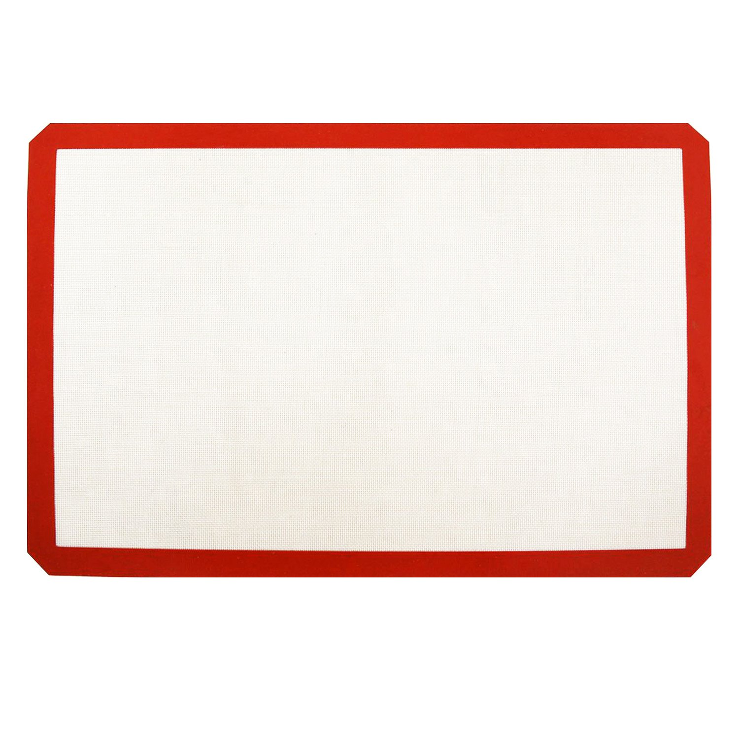 New Star Foodservice 36602 Commercial Grade Silicone Baking Mat Non-Stick Pan Liner, 17 x 25 inch (Full Size) Pack of 12