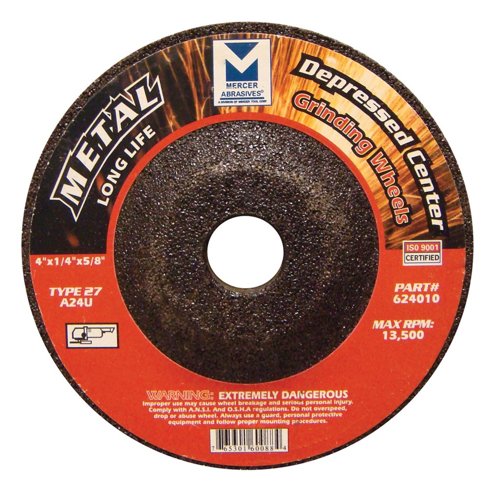 Tools 624020 Mercer Industries Long Life Grinding Wheel Mercer Tool Corp