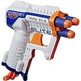 Hasbro A1690EUA Nerf N-Strike Elite Triad EX-3 Blaster Leksakspistol, Flerfärgad, 4.8 x 14 x 18.4 cm