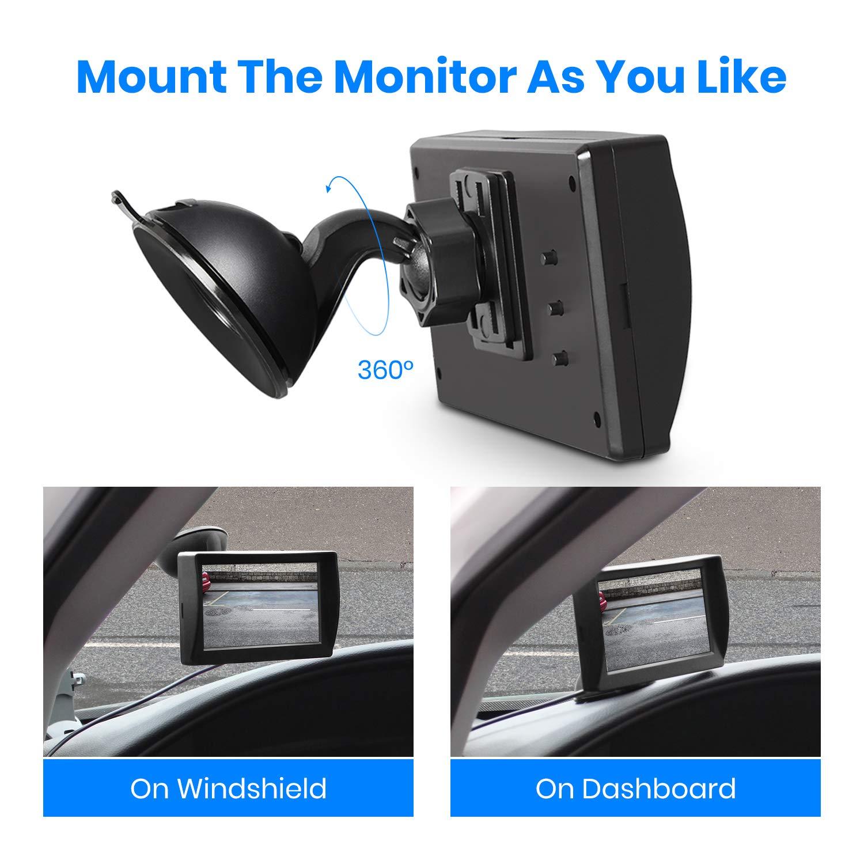 AUTO VOx M1W Wireless Backup Kamera Kit R uuml