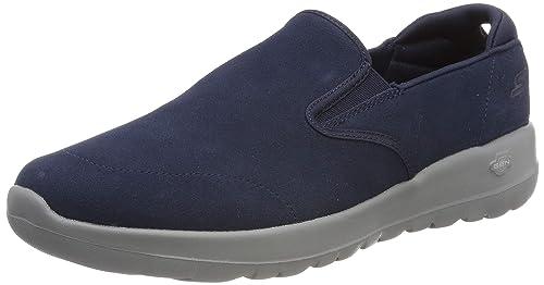 Skechers Go Walk Joy, Zapatillas sin Cordones para Mujer, Azul (Navy Grey Nvgy), 41 EU: Amazon.es: Zapatos y complementos